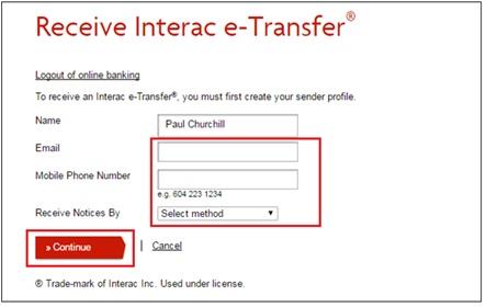 vancity-etransfer-setup-profile