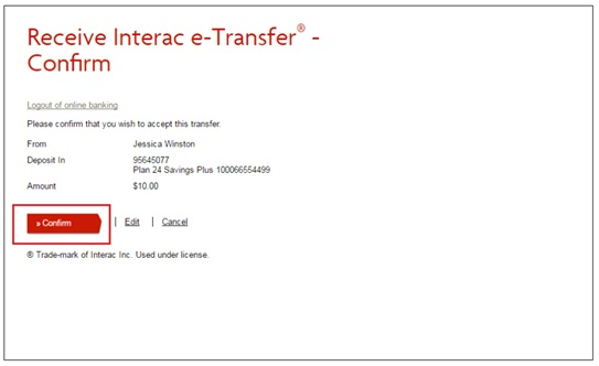 canada interac e transfer reminder - 542×332
