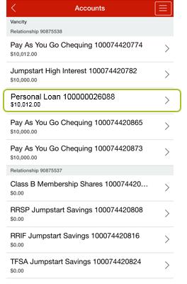 App select loan