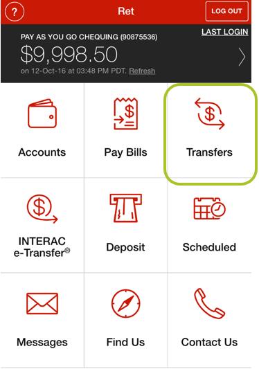 App transfer to member 1