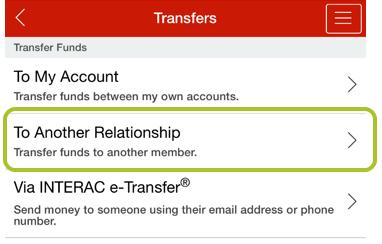 App transfer to member 2