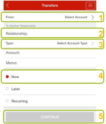 App transfer to member 3