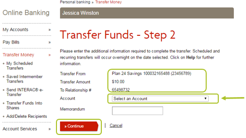 Desktop transfer funds 4