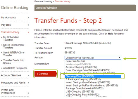 Desktop transfer funds 5