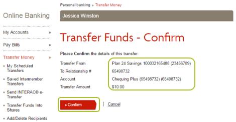 Desktop transfer funds 6