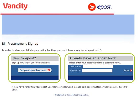 608bdd53 How do I set up epost™? - Learning Hub