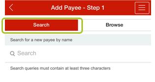 Add payee app 4-1