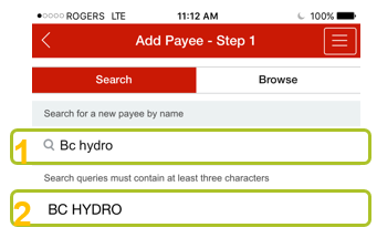 Add payee app 5
