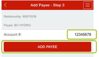 Add payee app 7