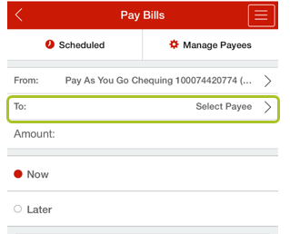 Pay bill mobile app 3