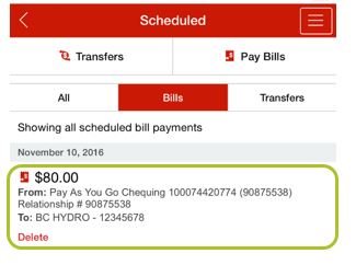 Pay bill mobile app 8