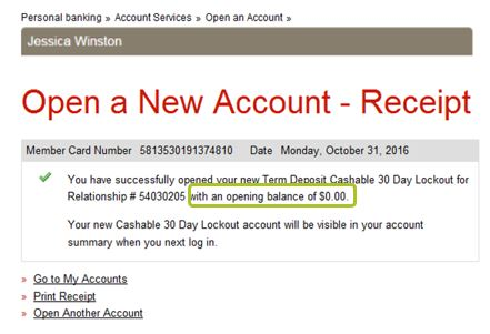 I see an error with my online banking transaction  What do I do