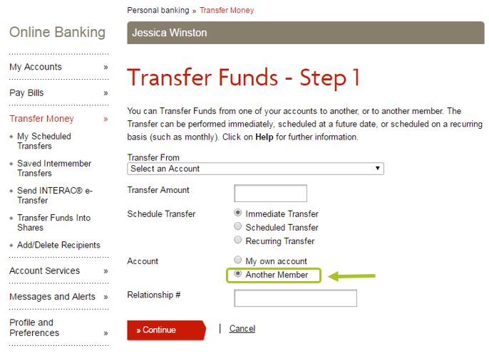 Can A Relationship Set Up As 2 To Sign Transfer Funds Within Learn How