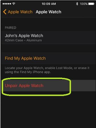 Vancity-unpair-Apple-Watch-step2