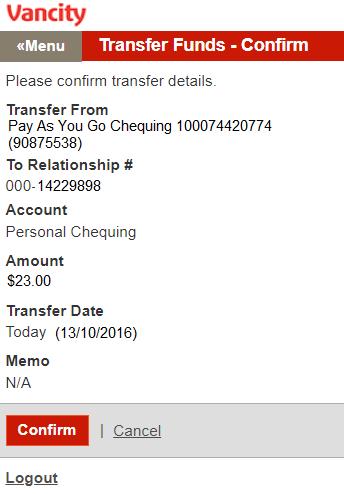 Transfer to Member